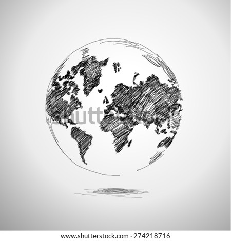 The Earth - stock vector