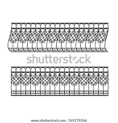 The forged products - stock vector