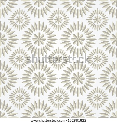 The geometric pattern of lines. Seamless vector background. - stock vector