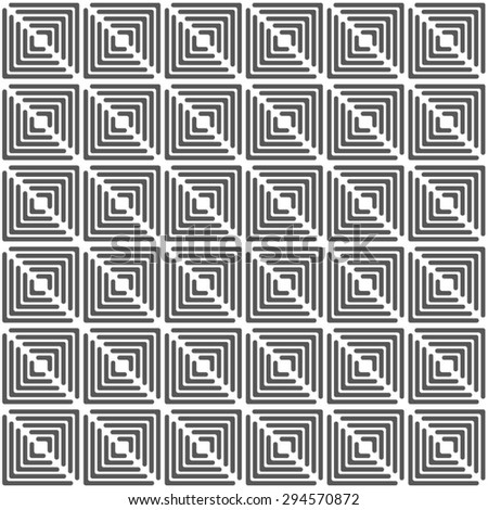 The geometric pattern of the striped triangle seamless vector background.