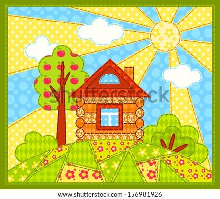 Картины домов своими руками