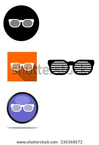 the icon set that shows the glasses.