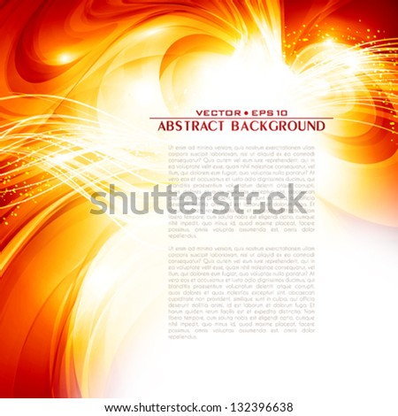 The invitation for your party. Abstract art imagination. Vector