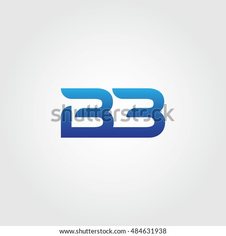 Letters B B Combined Icon Logo Stock Vector 484631938 - Shutterstock