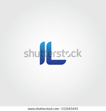 Letters L Combined Icon Logo Templates Stock Vector 512665645 ...