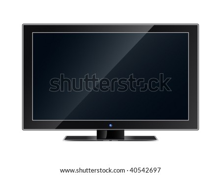 The modern flat television panel