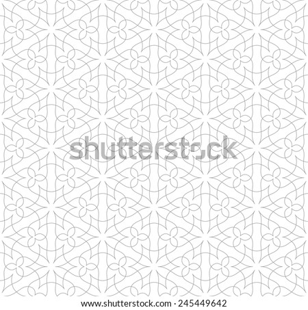 The original seamless pattern on white background. Abstract Vector Illustration. Modern texture. - stock vector