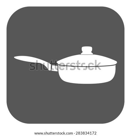 Flat Drip Pan Dripping Pan Symbol Flat
