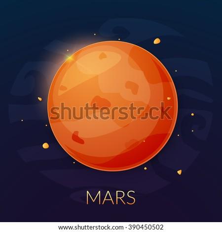 mars planet vector - photo #17