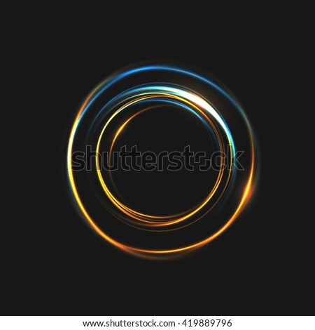Connected Rings That Form A Sphere