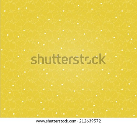 The seamless abstract Xmas background / The beautiful stellar background / The seamless Noel background  - stock vector