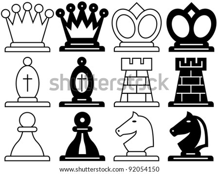 chess icons stock photos images amp pictures shutterstock