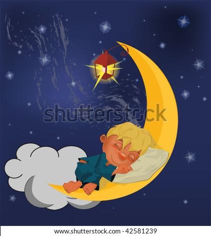 мальчик с удочкой на луне кто он