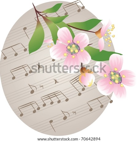 The Spring Story - stock vector