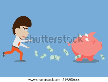 The Stealing  - stock vector