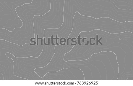 Contour Line Drawing Map : Stylized height topographic map contour lines stock vector hd