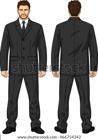 The suit of uniform consists of a jacket and trousers