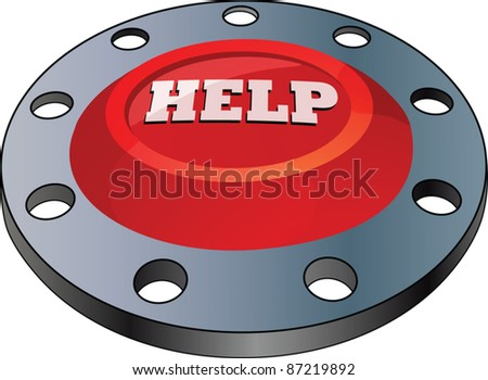 The switch. Help - stock vector