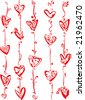 The Valentine's day, background. - stock vector
