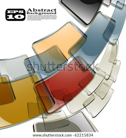 the vector abstract color background eps 10