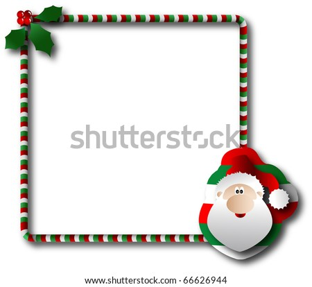 the vector Christmas and New Year banner - stock vector