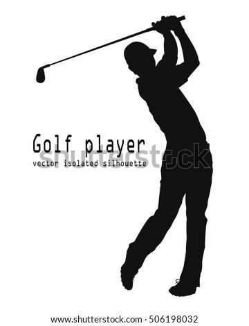 vector golf player stock photo photo vector illustration rh shutterstock com golf victoria portugal golf factory newcastle