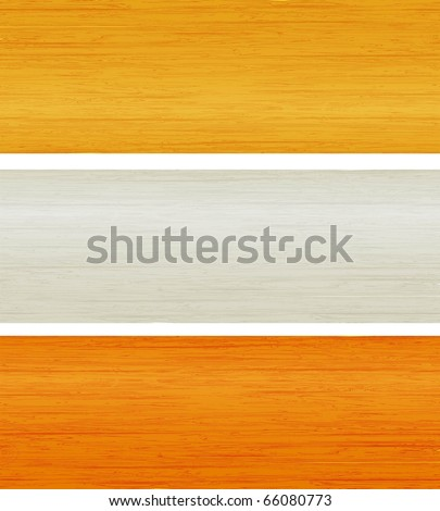 the vector wooden planks texture eps 10 - stock vector