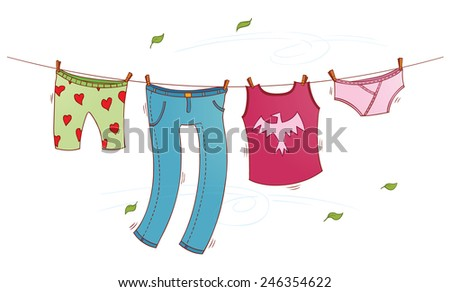 the wash - stock vector