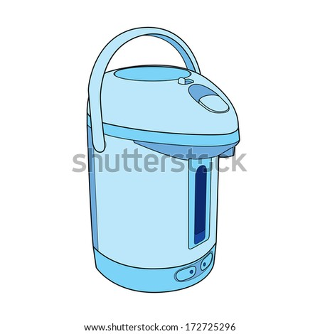 Thermo Pot vector - stock vector