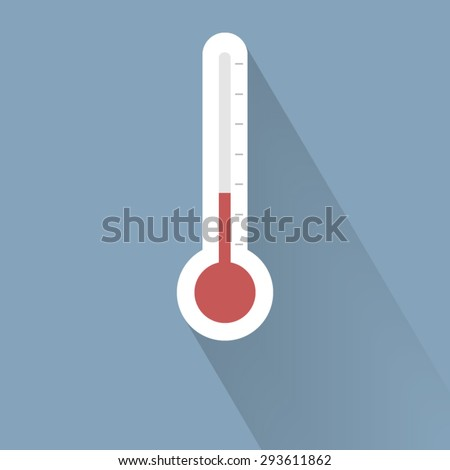 thermometer icon - stock vector