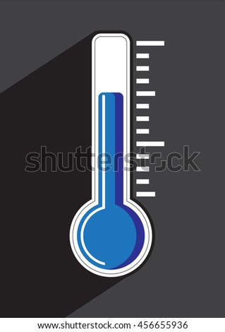 Thermometer icon , vector illustration.