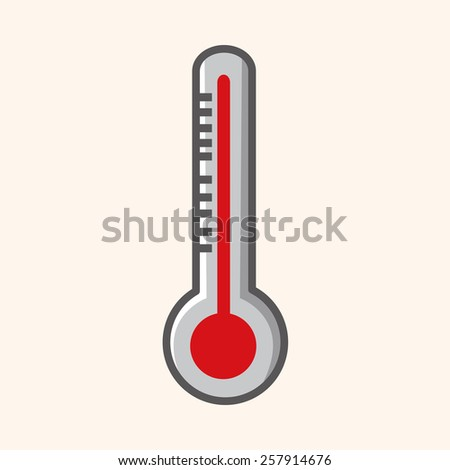 Thermometer theme elements