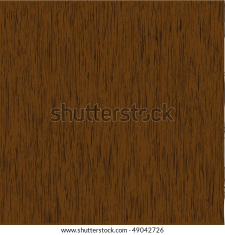 Thick Wood Grain - stock vector