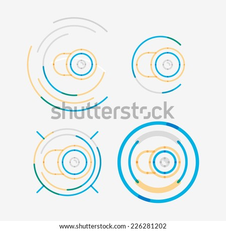 Antishock 39 s logo collections set on shutterstock for Modern cleaning concept
