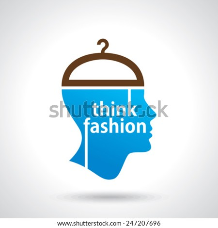 think fashion abstract vector - stock vector