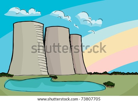 Chiller Cooling Tower Clip Art