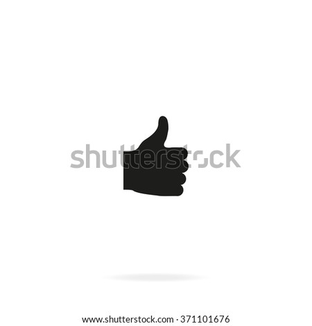 Thumb up icon. Ok sign. - stock vector