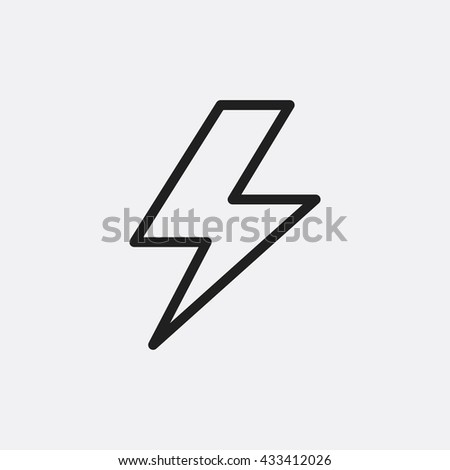 Thunder Icon, Thunder Icon Eps10, Thunder Icon Vector, Thunder Icon Eps, Thunder Icon Jpg, Thunder Icon, Thunder Icon Flat, Thunder Icon App, Thunder Icon Web, Thunder Icon Art, Thunder Icon, Thunder - stock vector