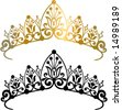 Tiara Vector Illustration - stock photo