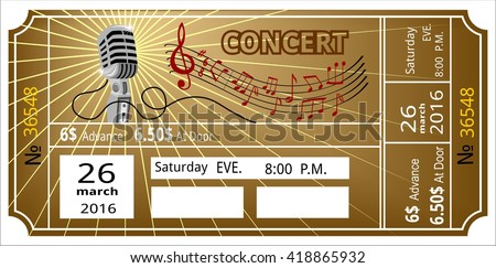 Ticket Stock Photos, Royalty-Free Images & Vectors - Shutterstock