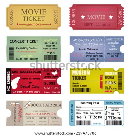 Concert Ticket Stock Images RoyaltyFree Images  Vectors