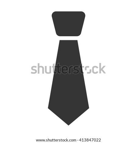 Tie icon.   - stock vector