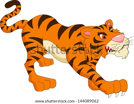 Cartoon white tiger porn