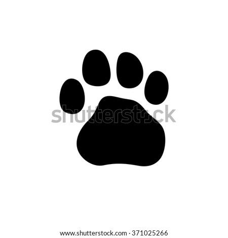 tiger paw stock images royaltyfree images amp vectors