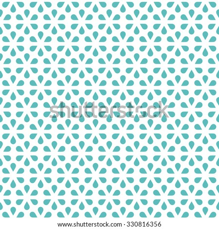 Tile pattern with abstract flowers. Seamless decoration wallpaper. Abstract vector illustration with flowers. Can be used for wallpaper, pattern fills, web page background, surface textures.
