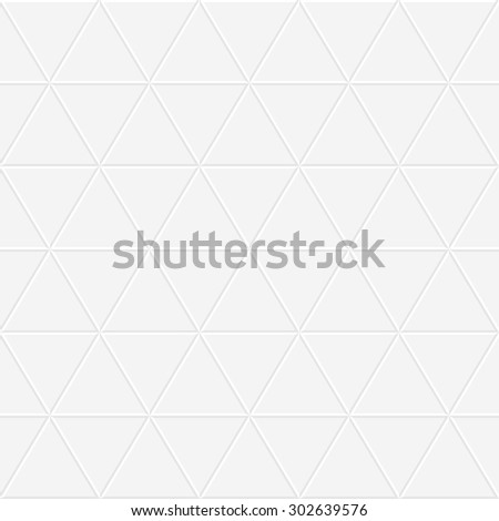 Tile white texture - seamless geometric pattern. - stock vector