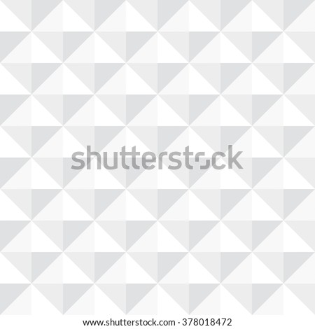 Tileable 3-D modern recurring creative concept design techno textural fond consisting of unit plastic cells. Trendy cute art prominent multifaceted extruded style convex retro template surface - stock vector