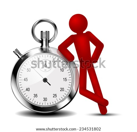 Time management background. Vector eps 10