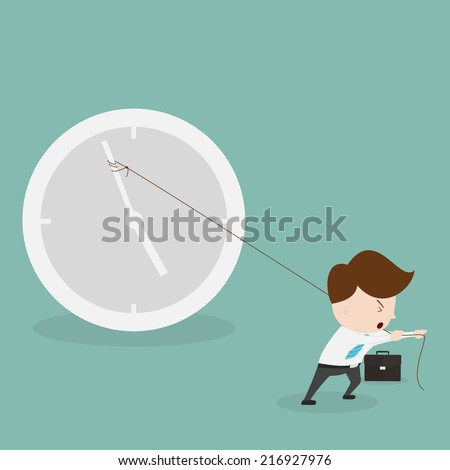 Time to home. - stock vector