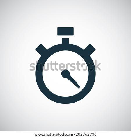 timer icon - stock vector